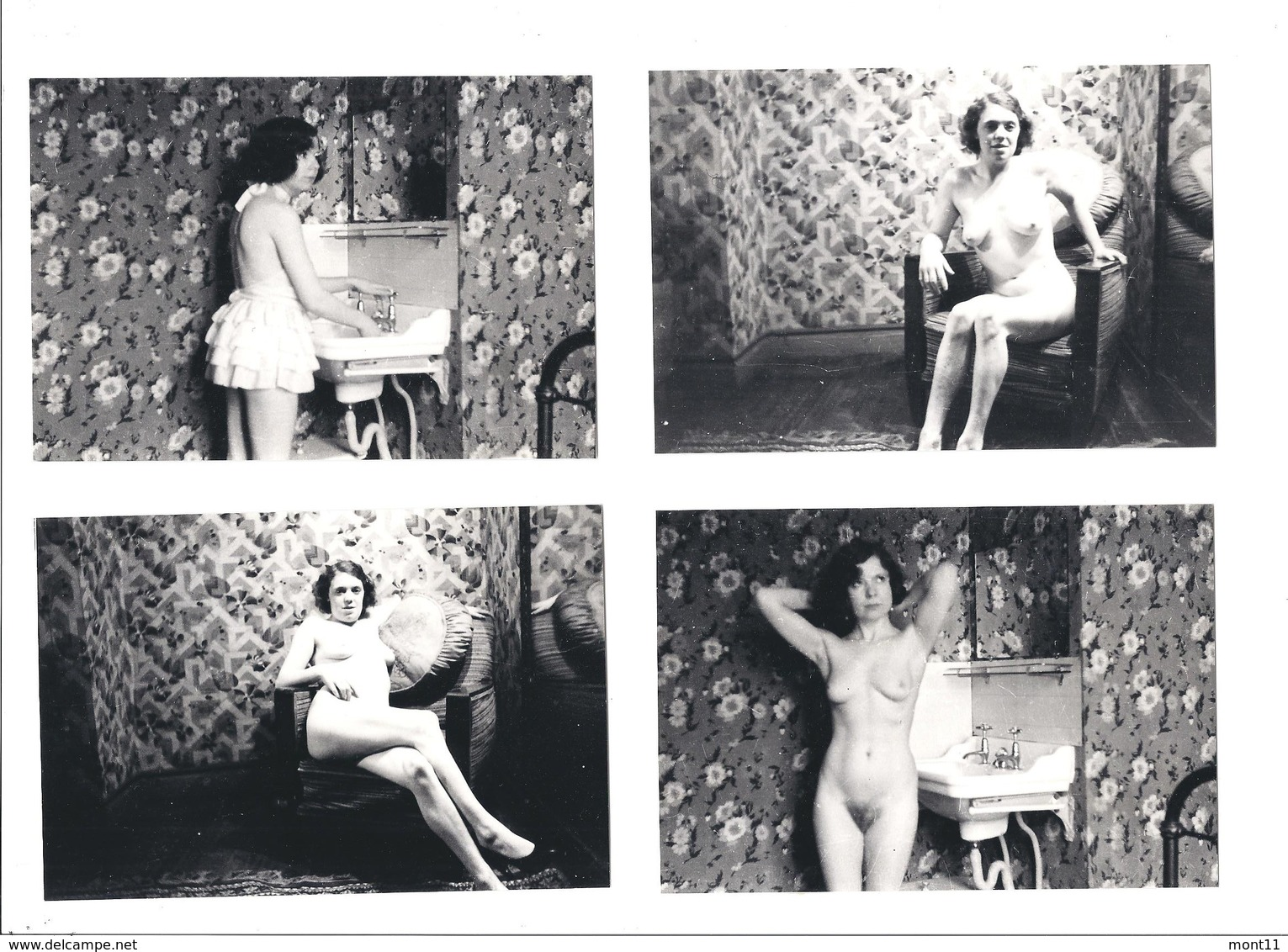 4 - Antique - Art - Glamour Fotos  ORIGINAL - Pin-Ups