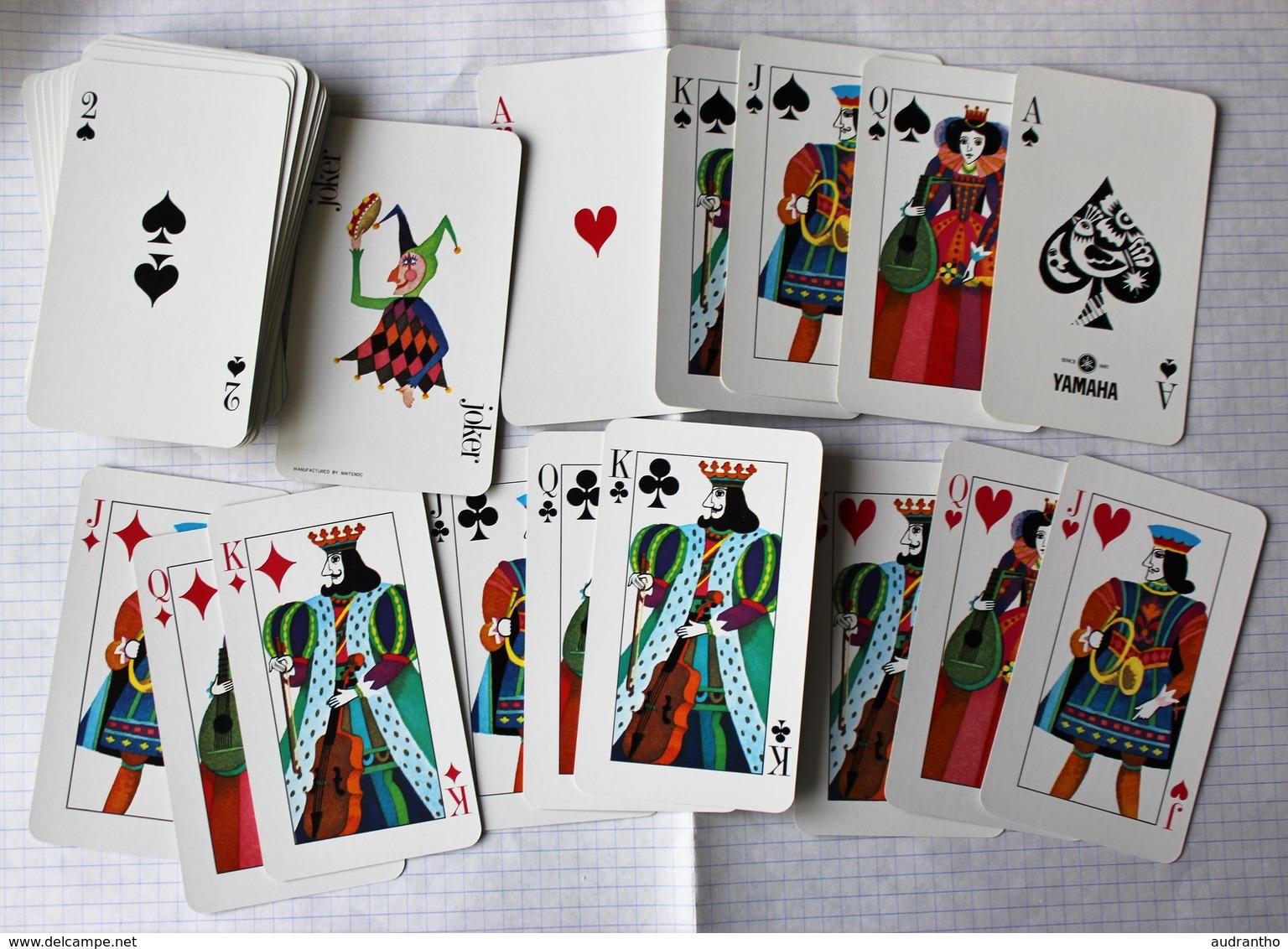 Rare Beau Jeu 54 Cartes à Jouer Yamaha Instruments De Musique Manufactured By Nintendo Playing Cards - 54 Cartes
