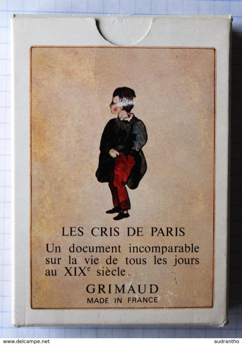 Beau Jeu 54 Cartes à Jouer Les Cris De Paris Grimaud Vieux Métiers - 54 Cartes