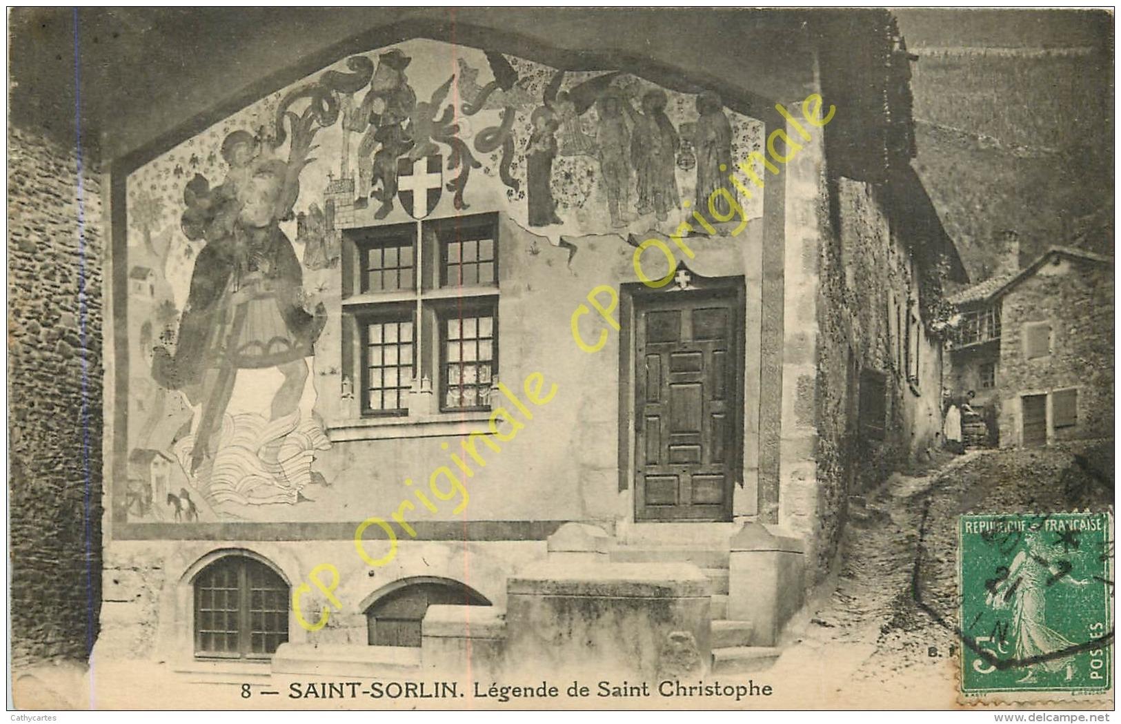 01.  SAINT SORLIN En BUGEY .  Légende De Saint Christophe . - Autres Communes