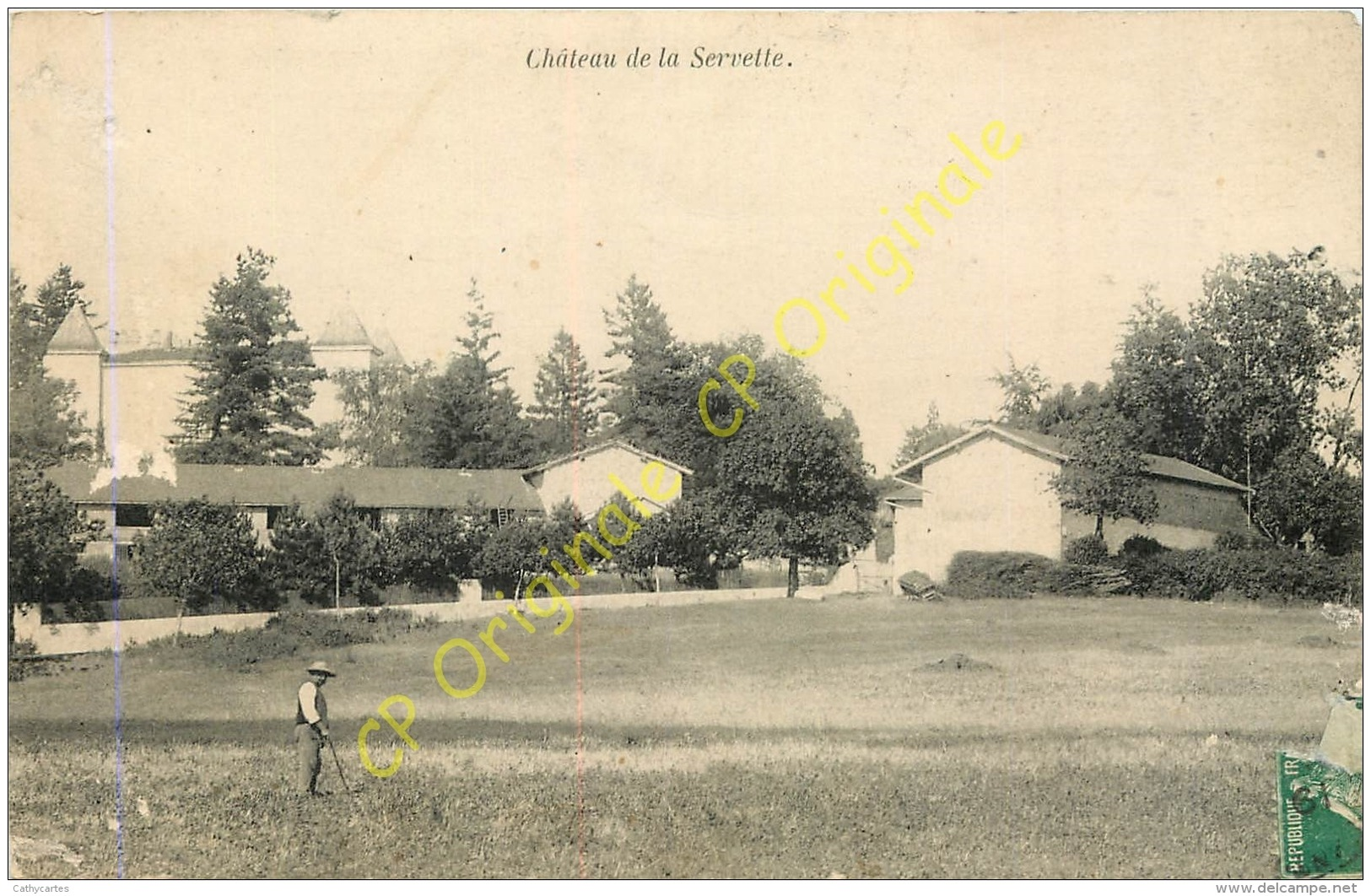 01.  Chateau De La Servette . - Autres Communes