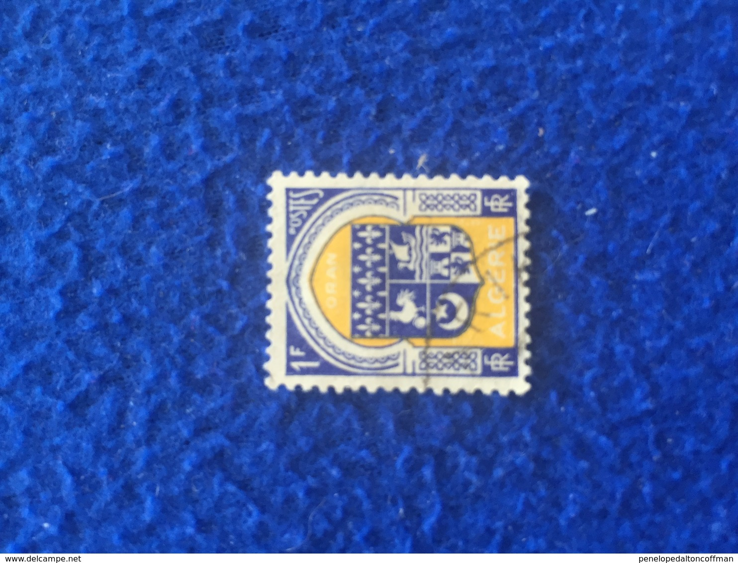Algeria Stamp, 1945 Coat Of Arms  Canceled LH - Stamps