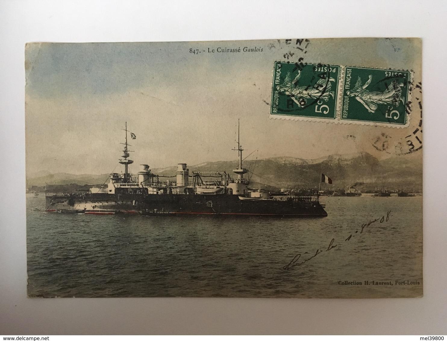 Le Cuirassé Gaulois - Warships