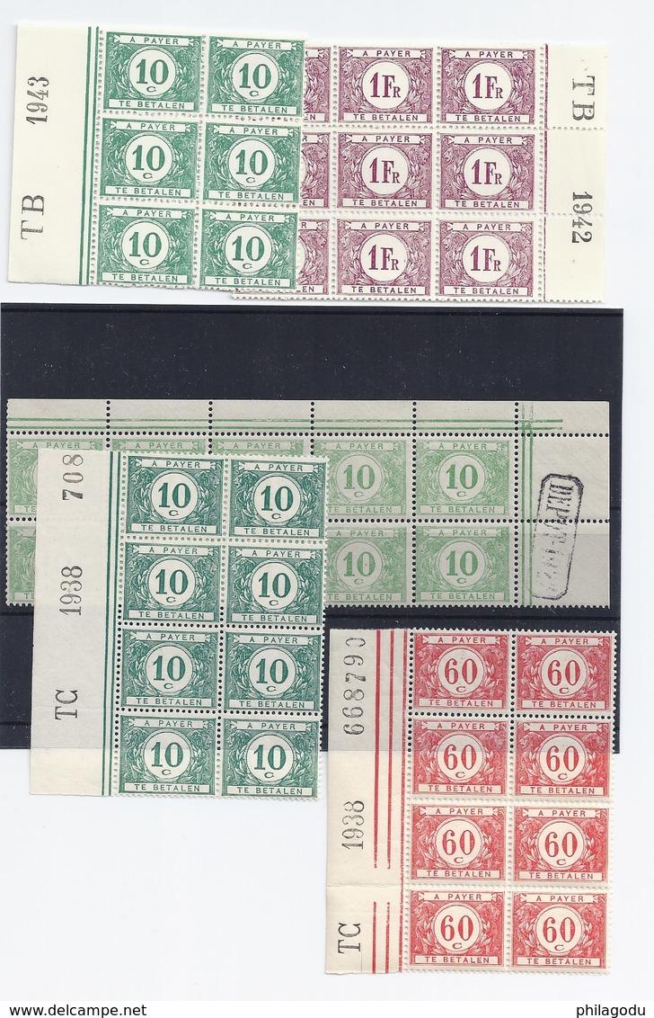 1922+  5 Blocs Avec Dépot  **   Très Frais   33  33a  40  43a - Timbres