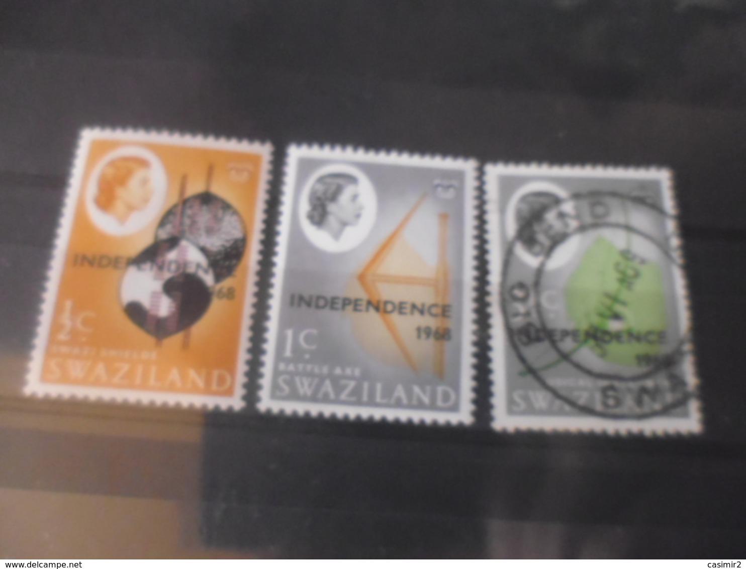 SWAZILAND YVERT  N°138.---142 - Swaziland (1968-...)