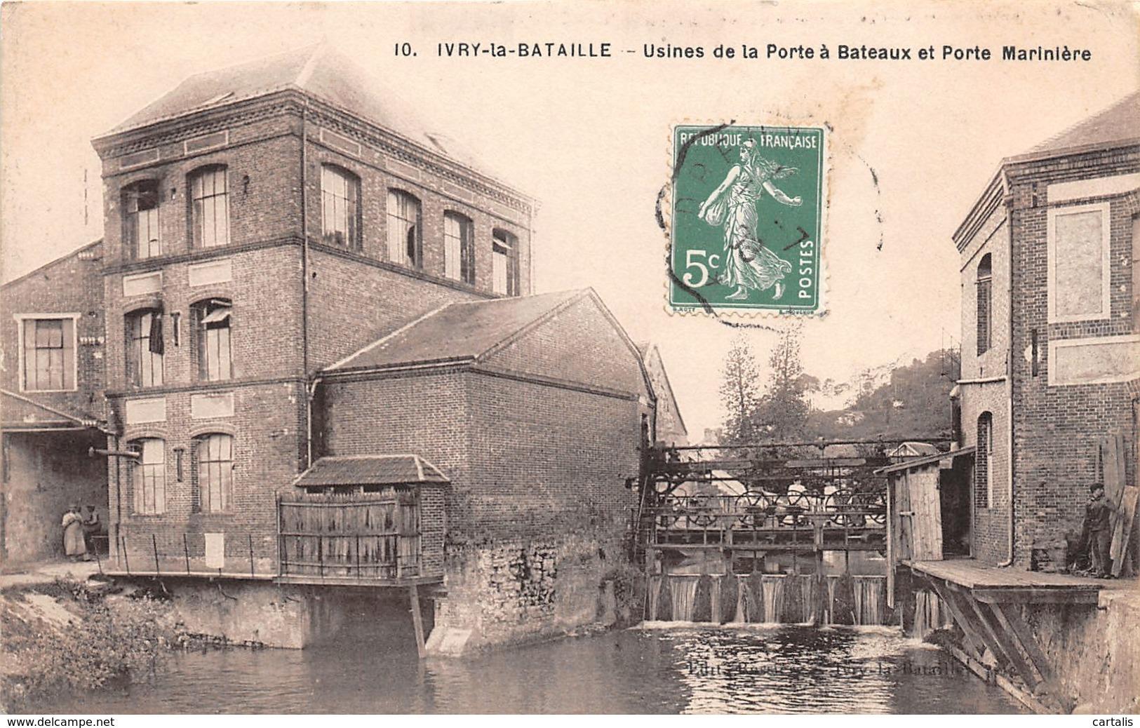 27-IVRY LA BATAILLE-N°286-C/0323 - Ivry-la-Bataille