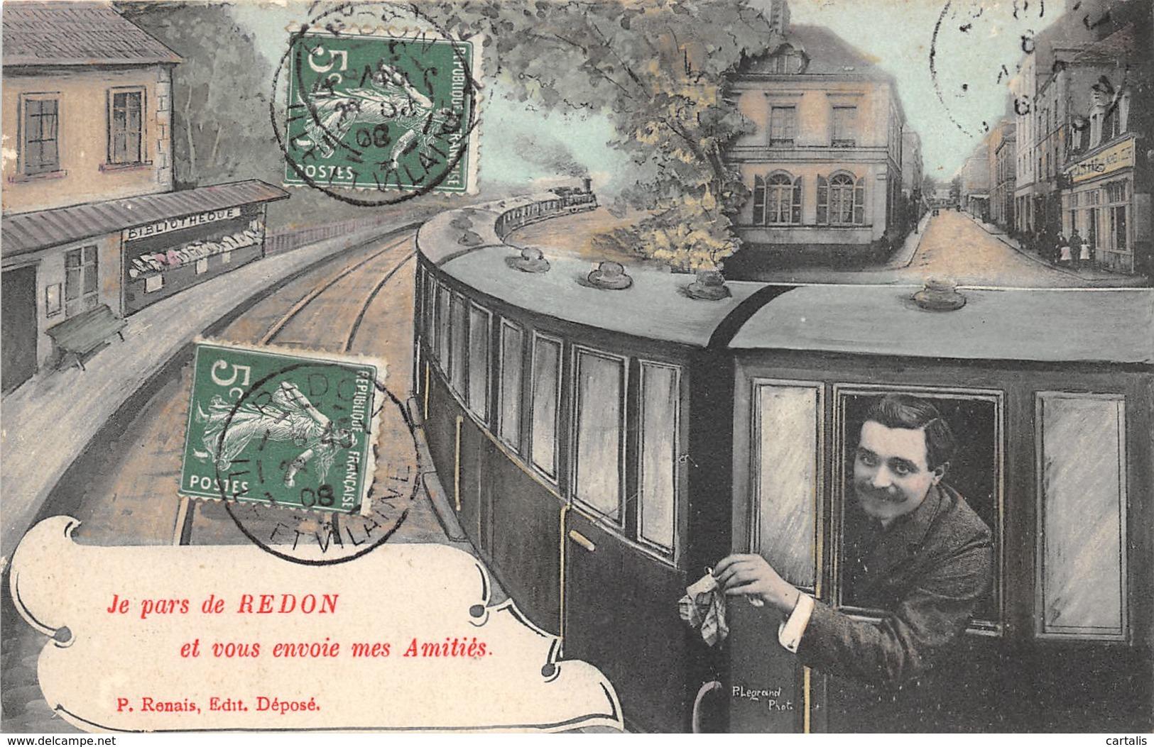 35-REDON-N°287-B/0275 - Redon