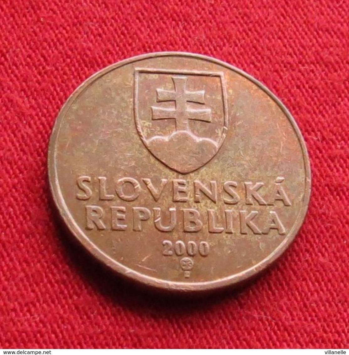 Slovakia 50 Halierov 2000 KM# 35 Eslovaquia Slovaquie - Slovakia