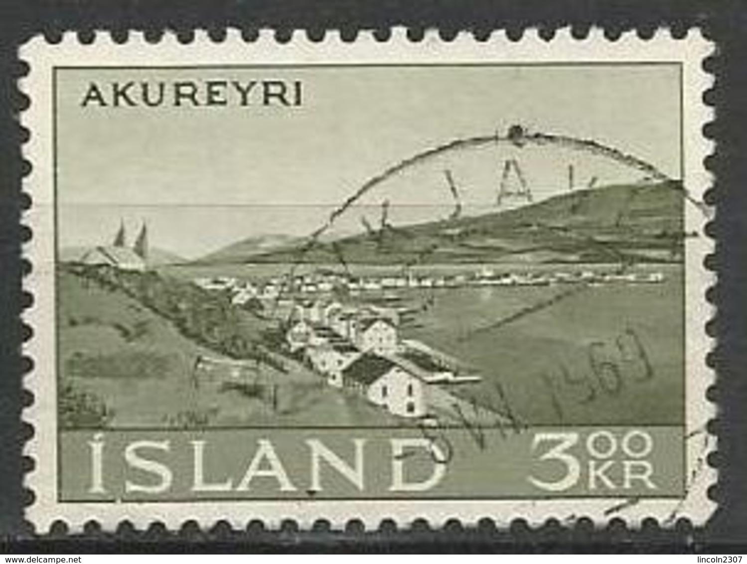 LSJP ICELAND City View Akureyri 1963 - 1944-... Republik