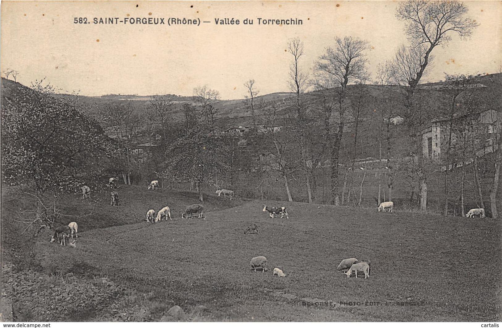 69-SAINT FORGEUX-N°292-A/0037 - France