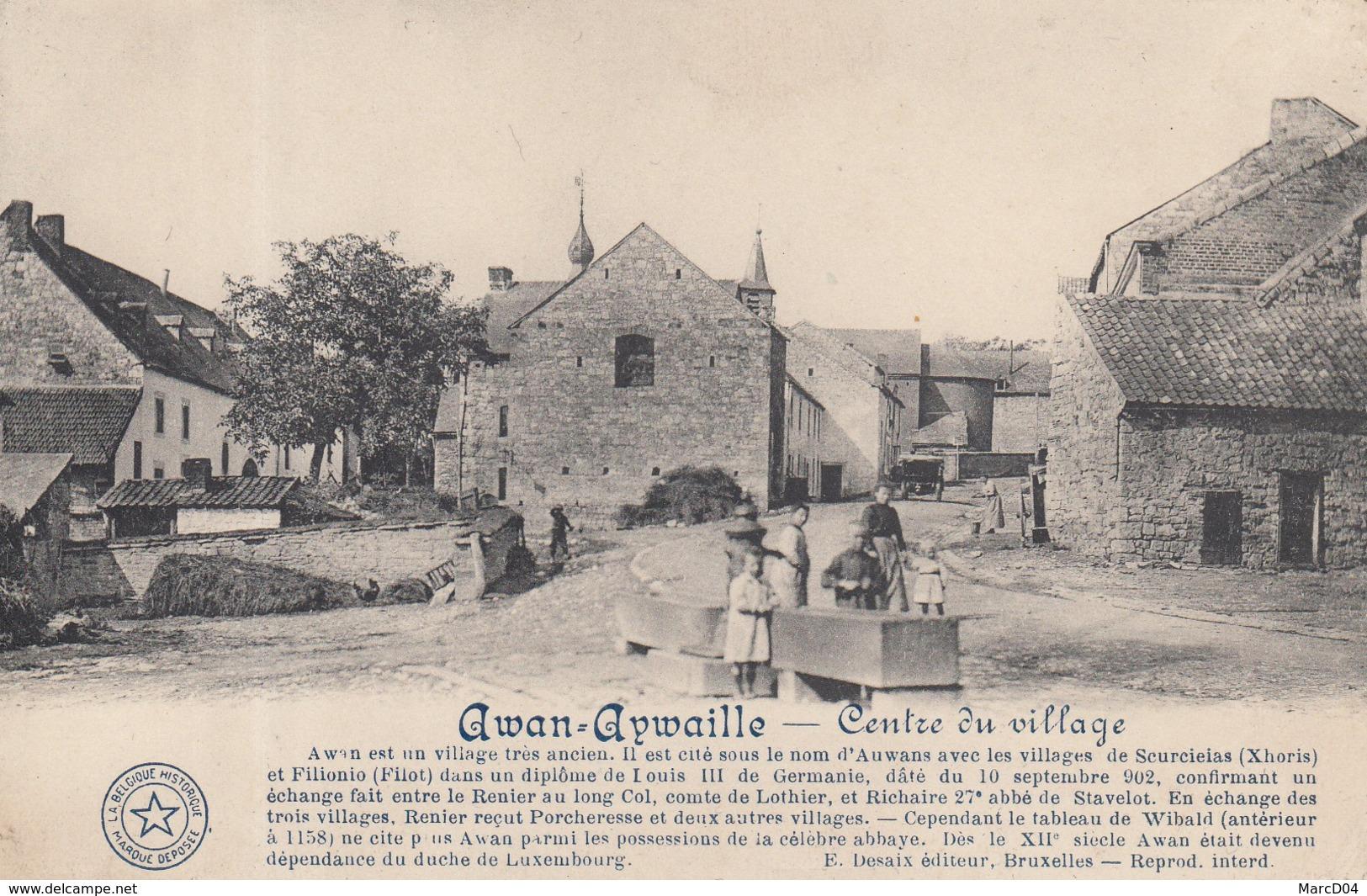 Aywaille - Awan:     Centre Du Village. - Aywaille