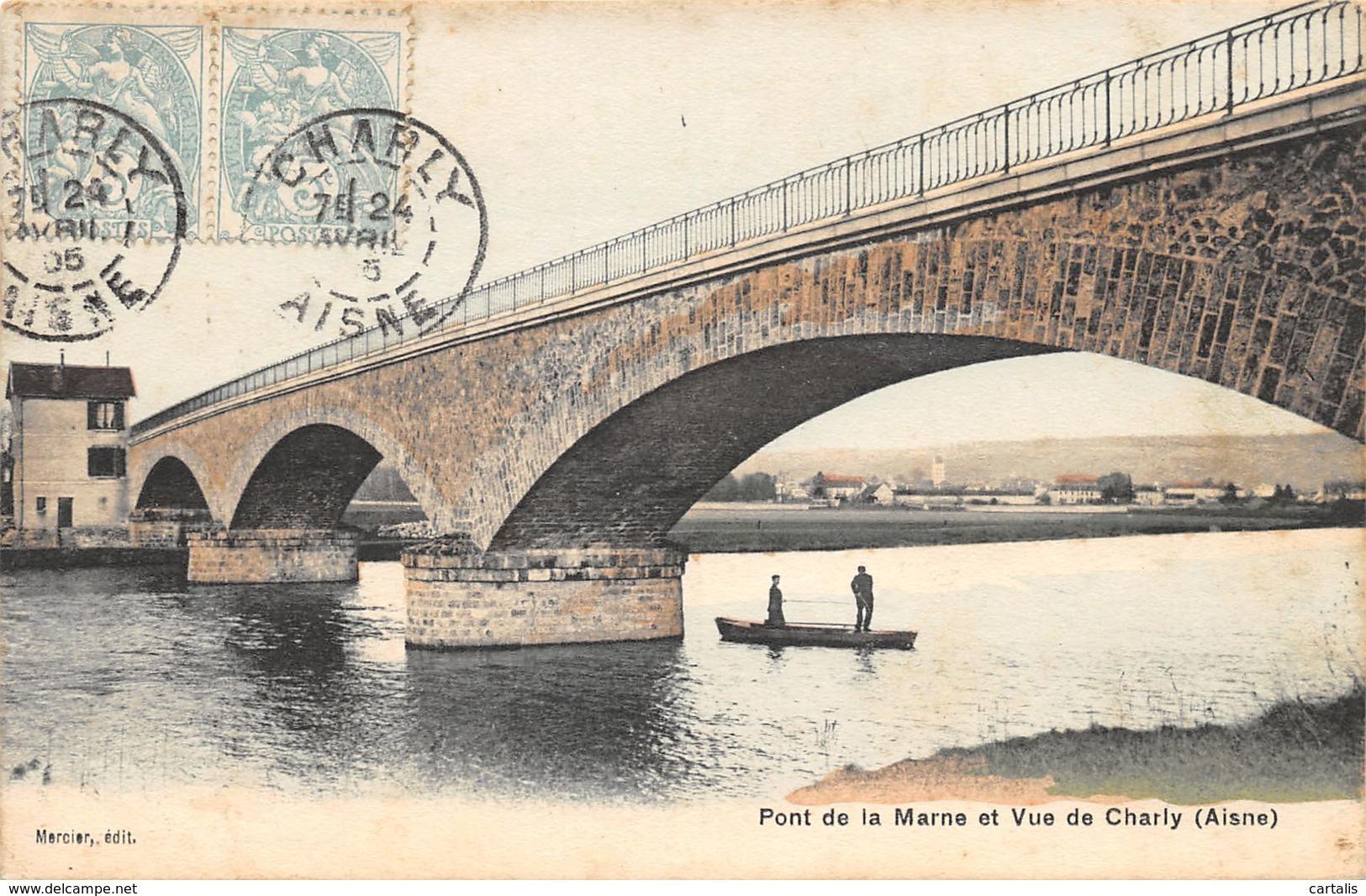 02-CHARLY-PONT SUR LA MARNE-N°381-E/0157 - Autres Communes