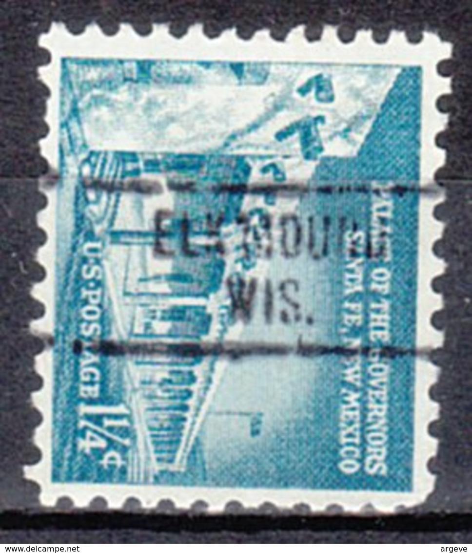USA Precancel Vorausentwertung Preo, Locals Wisconsin, Elk Mound 734 - Vorausentwertungen