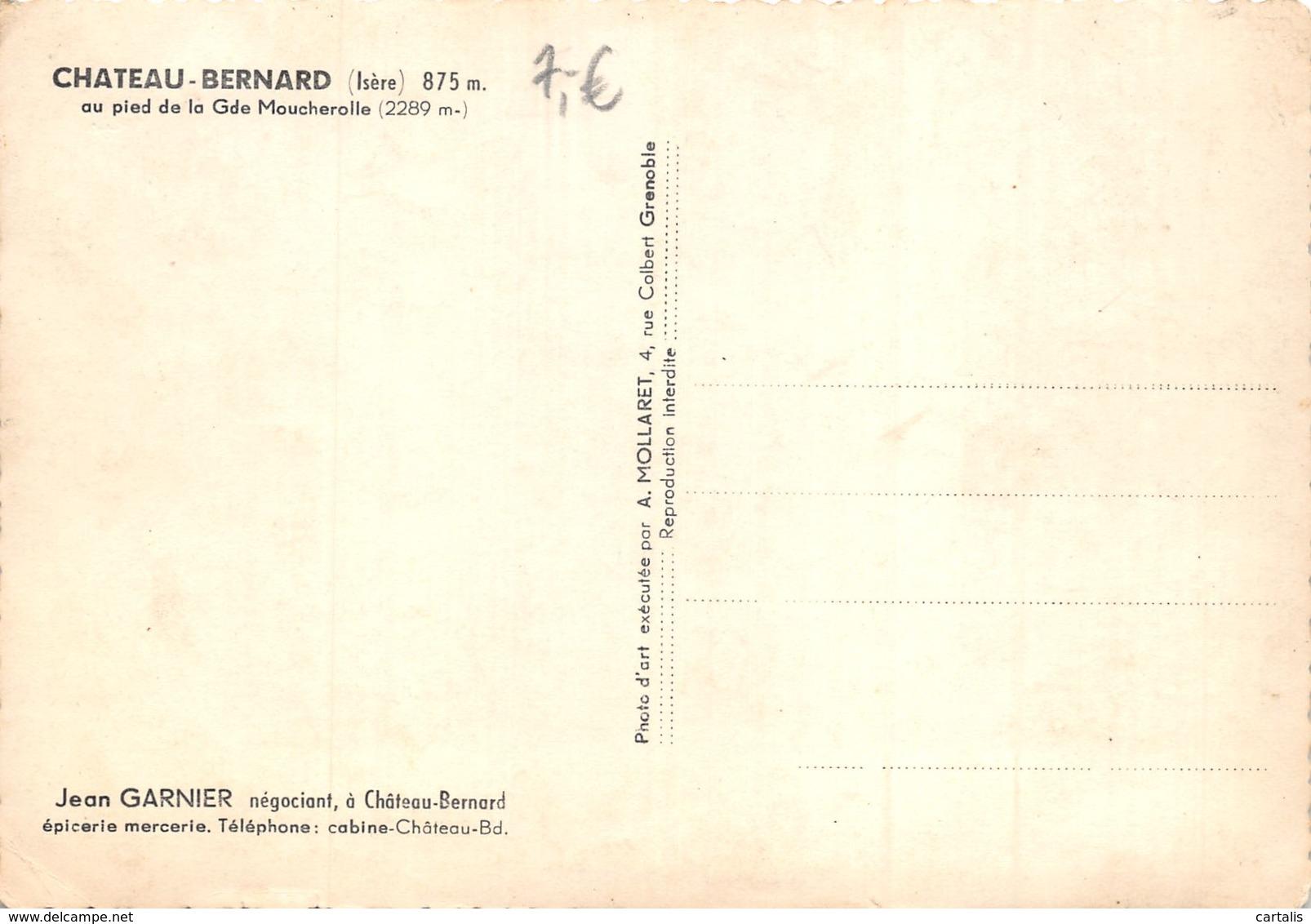 38-CHÂTEAU BERNARD-N°389-B/0017 - France