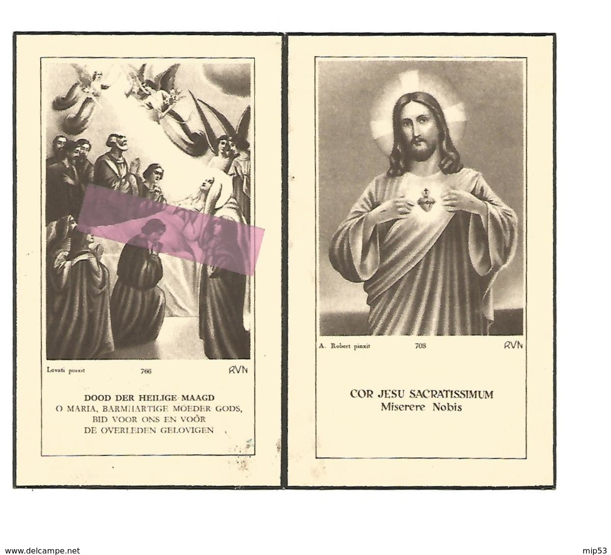 Z 337. E.Zuster PHILIPPINNE (T. WIRIX) - °ZONHOVEN 1896 / LUIK / +ST-TRUIDEN (Klein Seminarie) 1954 - Images Religieuses