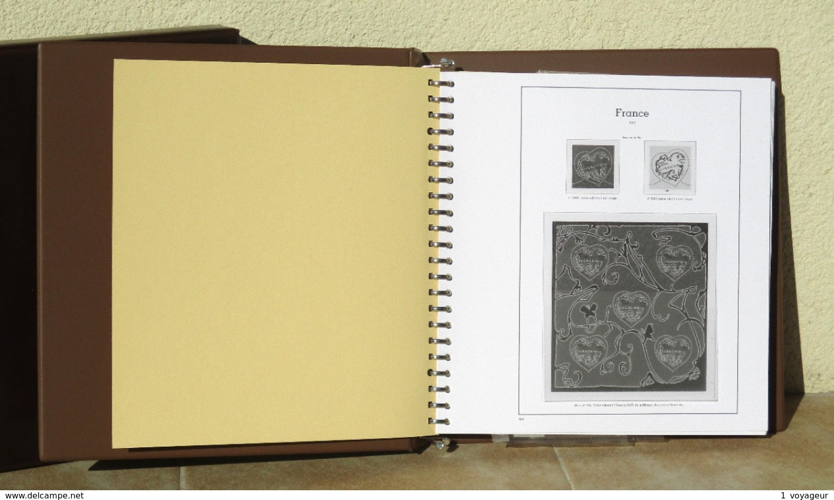 FRANCE - Album + étui MARINI Sans Charnière (pochettes) + Intérieur 2007/2010 - Très Bon état. - Albums & Reliures