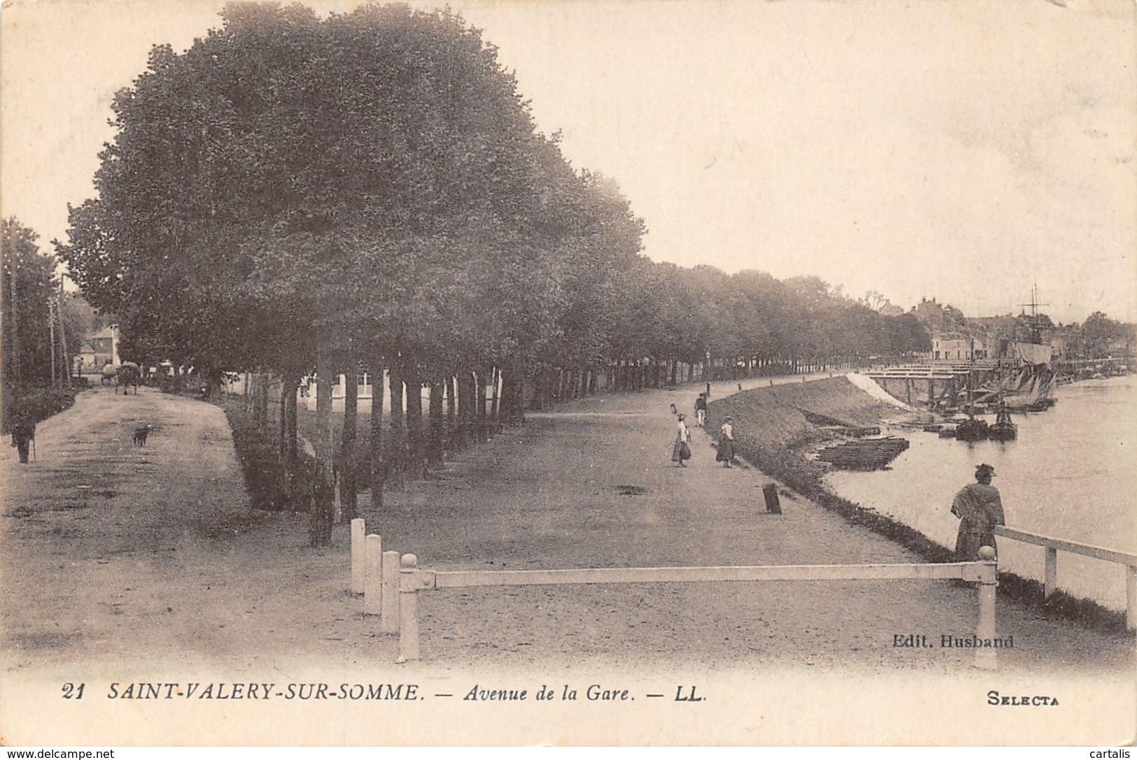 80-SAINT VALERY SUR SOMME-N°401-E/0277 - Saint Valery Sur Somme