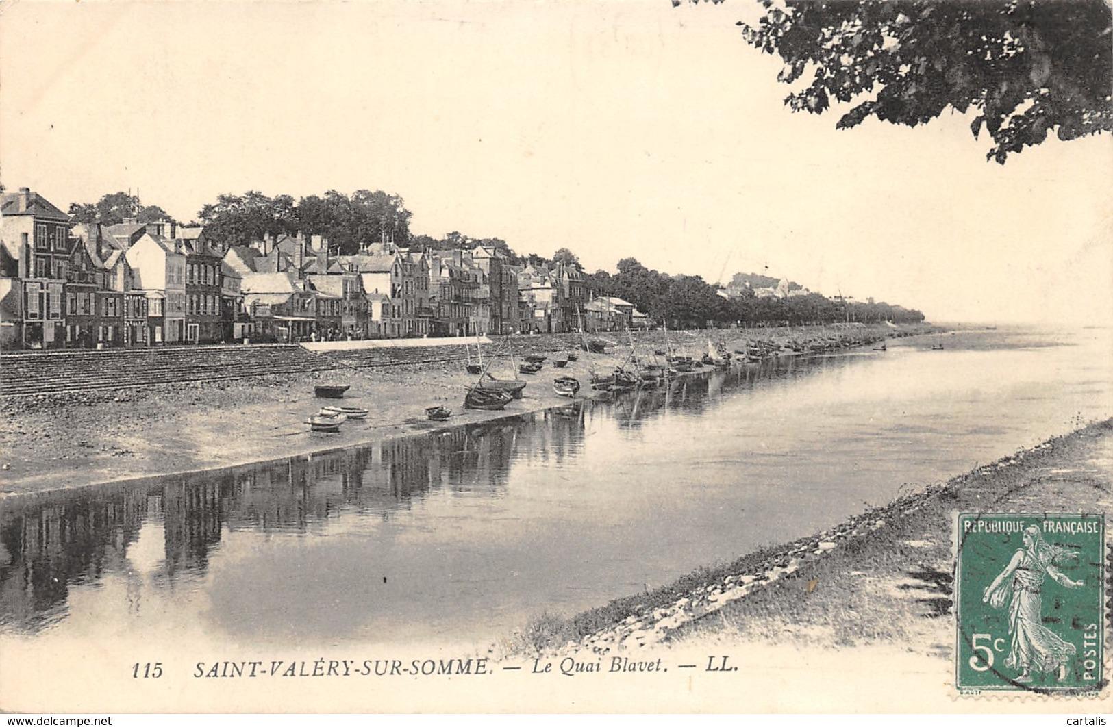 80-SAINT VALERY SUR SOMME-N°401-F/0021 - Saint Valery Sur Somme