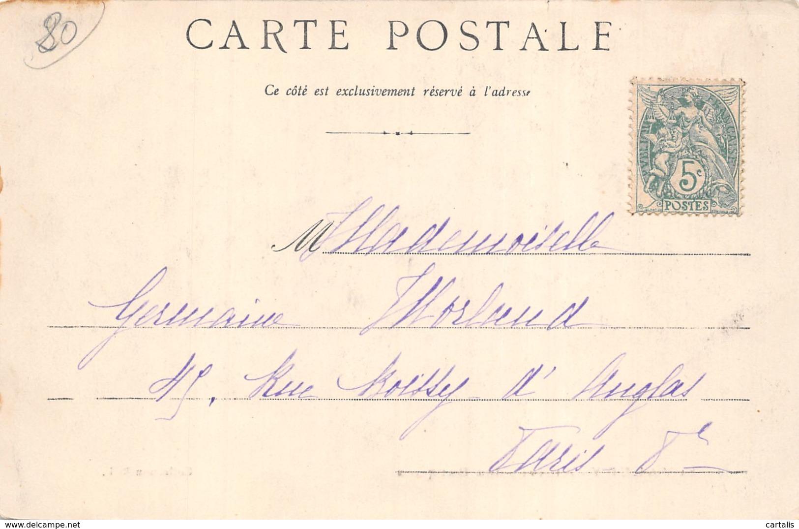 80-SAINT VALERY SUR SOMME-N°401-F/0073 - Saint Valery Sur Somme