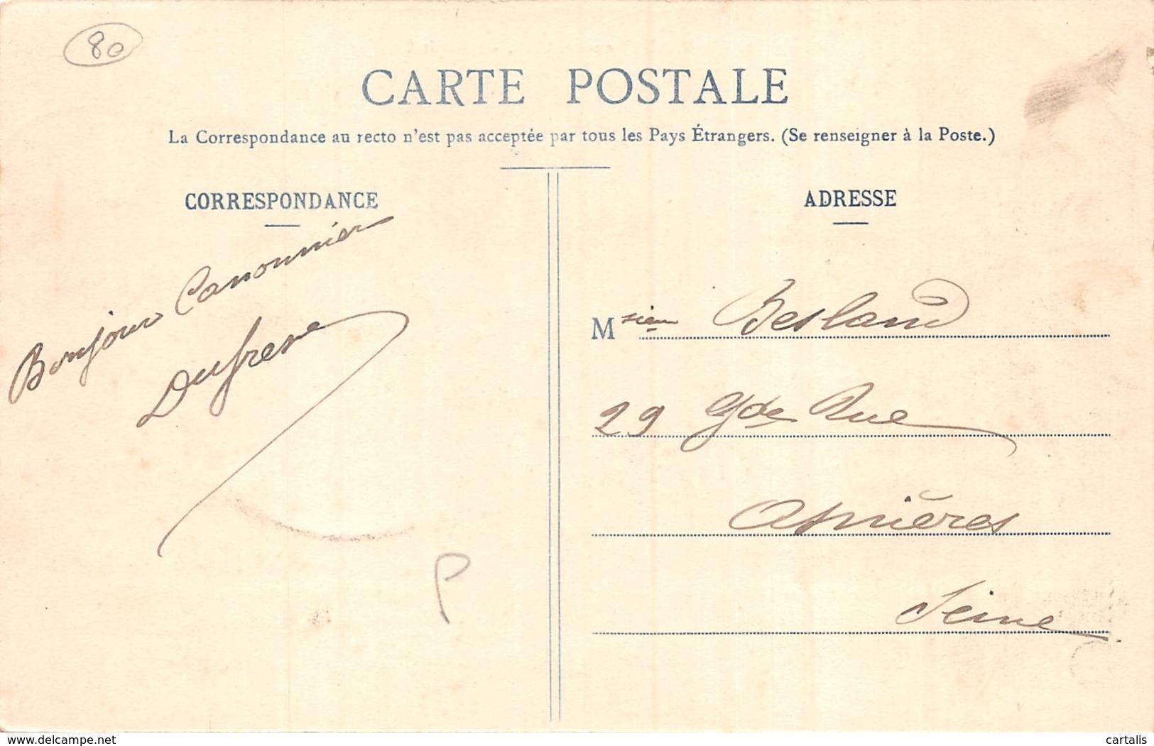 80-SAINT VALERY SUR SOMME-N°401-F/0103 - Saint Valery Sur Somme