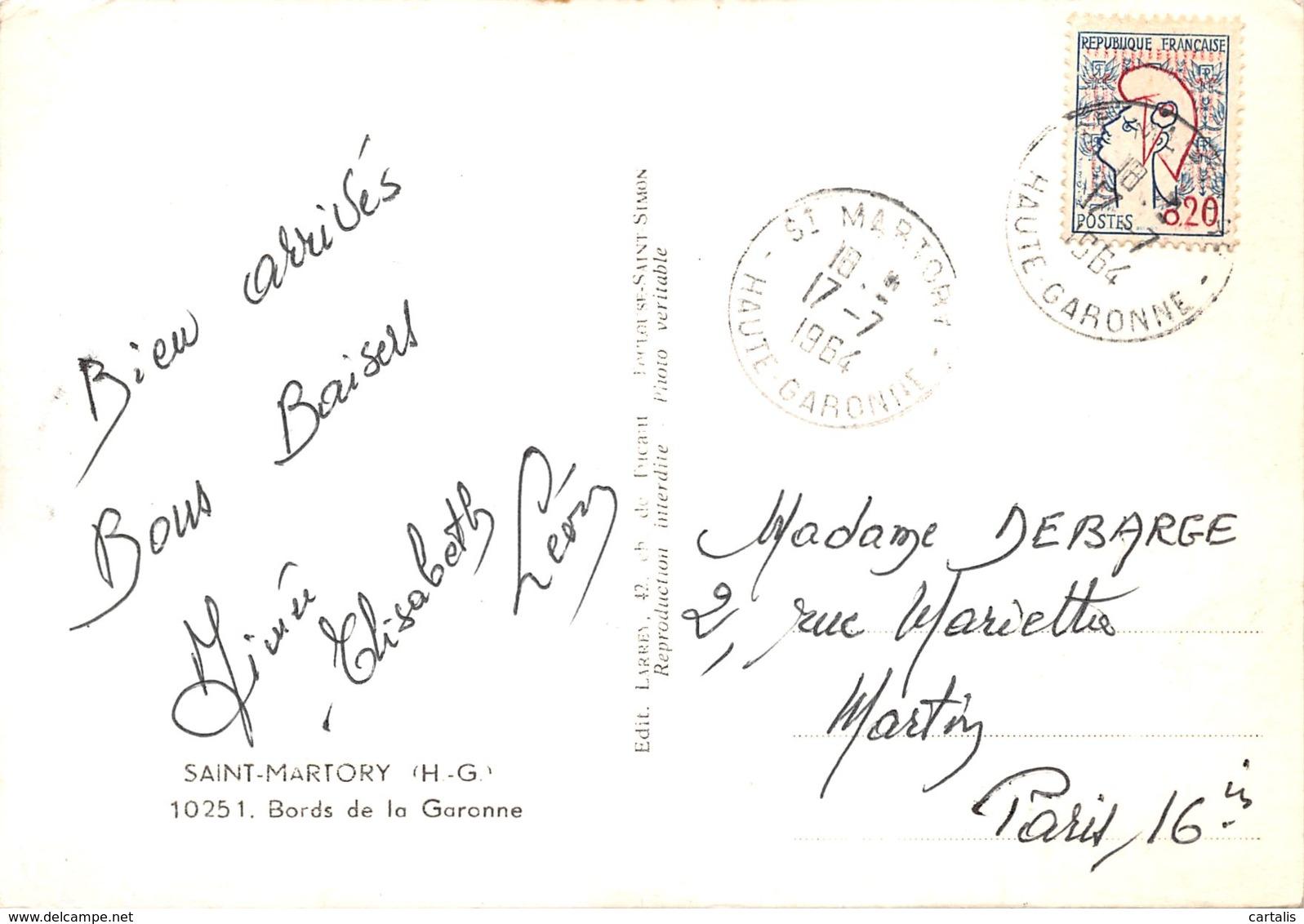 31-SAINT MARTORY-N°407-A/0059 - France