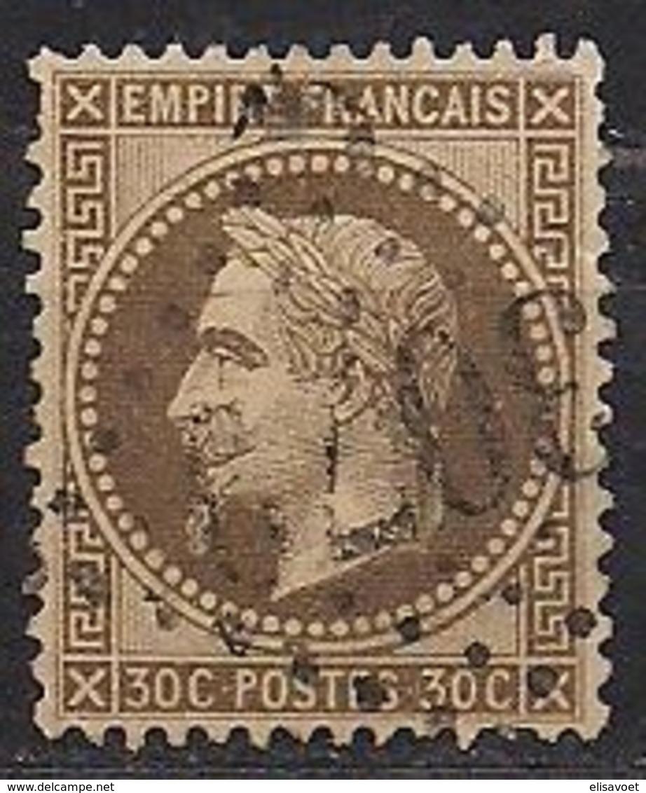 Frankrijk France 1867 Yvert Nr 30 (0) Obliteré Cote 25 Euro - 1863-1870 Napoléon III Lauré