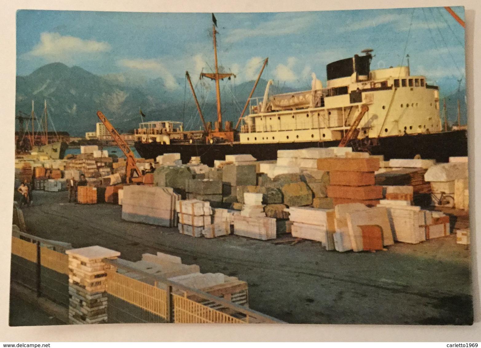 MARINA DI CARRARA - IL PORTO    - VIAGGIATA FG - Carrara