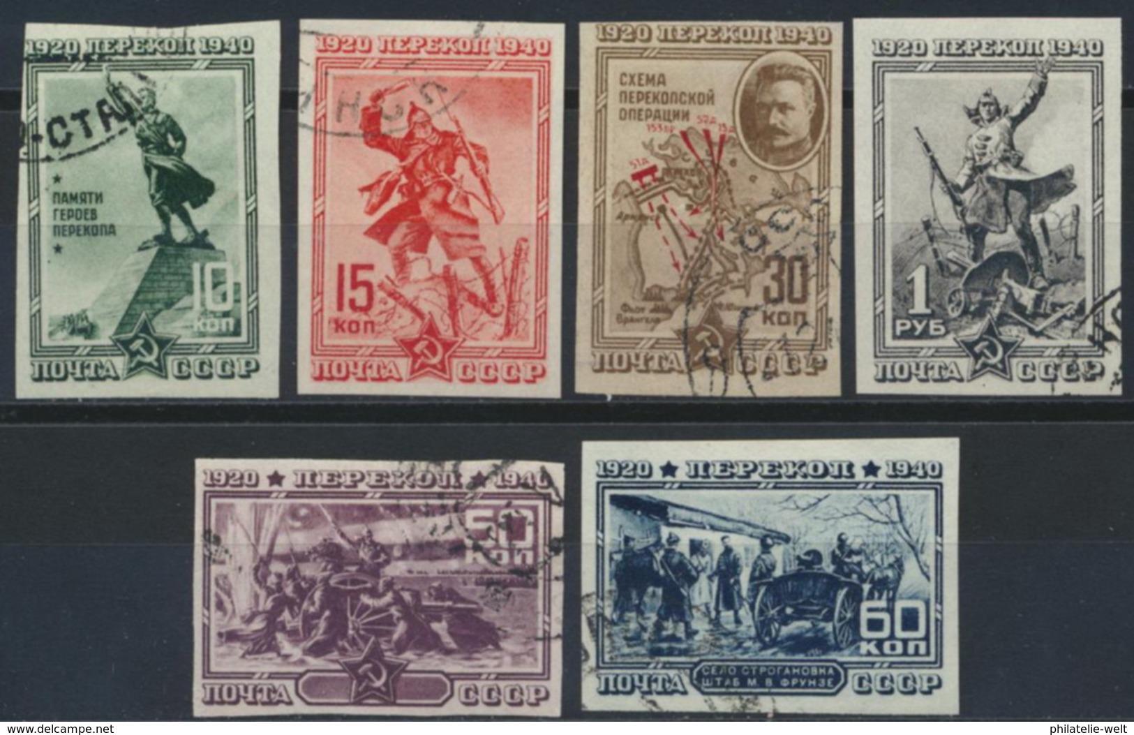Sowjetunion 780/85B - Meissen (DEU)