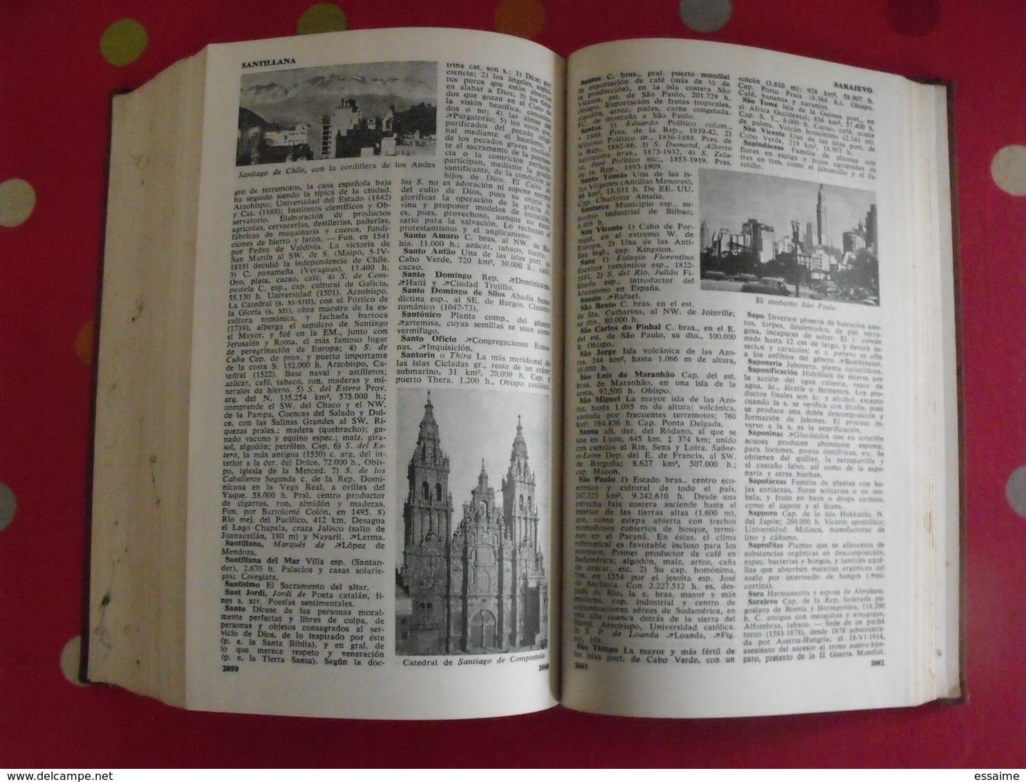 Enciclopedia Universal Herder. Barcelona 1954. Dictionnaire En Espagnol - Dictionnaires