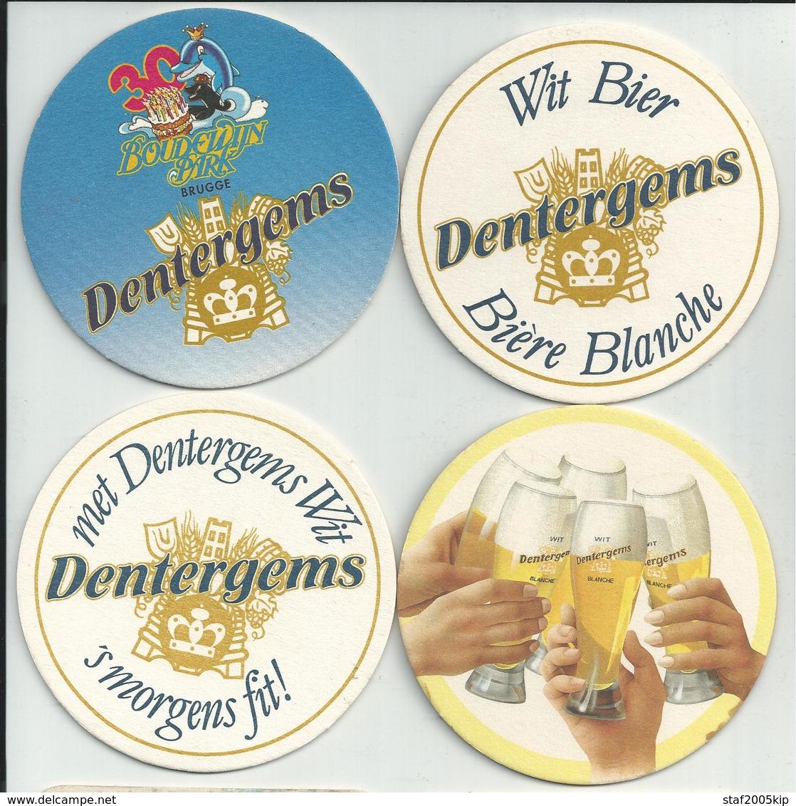 Bierviltjes - Dentergems - (4 Stuks) - Sous-bocks