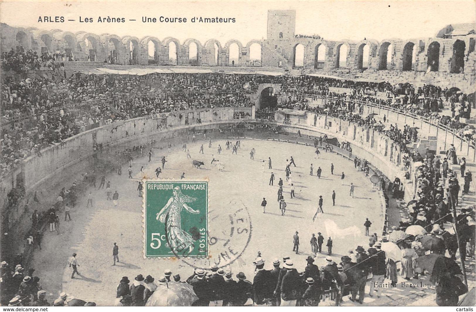 13-ARLES-LES ARENES-N°C-416-H/0319 - Arles