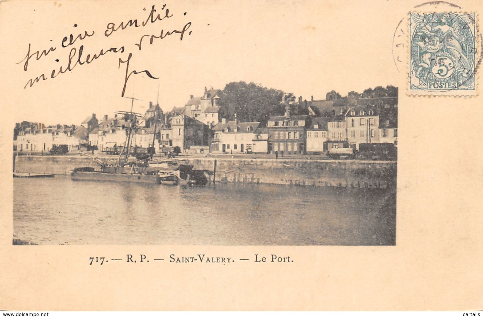 80-SAINT VALERY SUR SOMME-N°C-423-F/0289 - Saint Valery Sur Somme