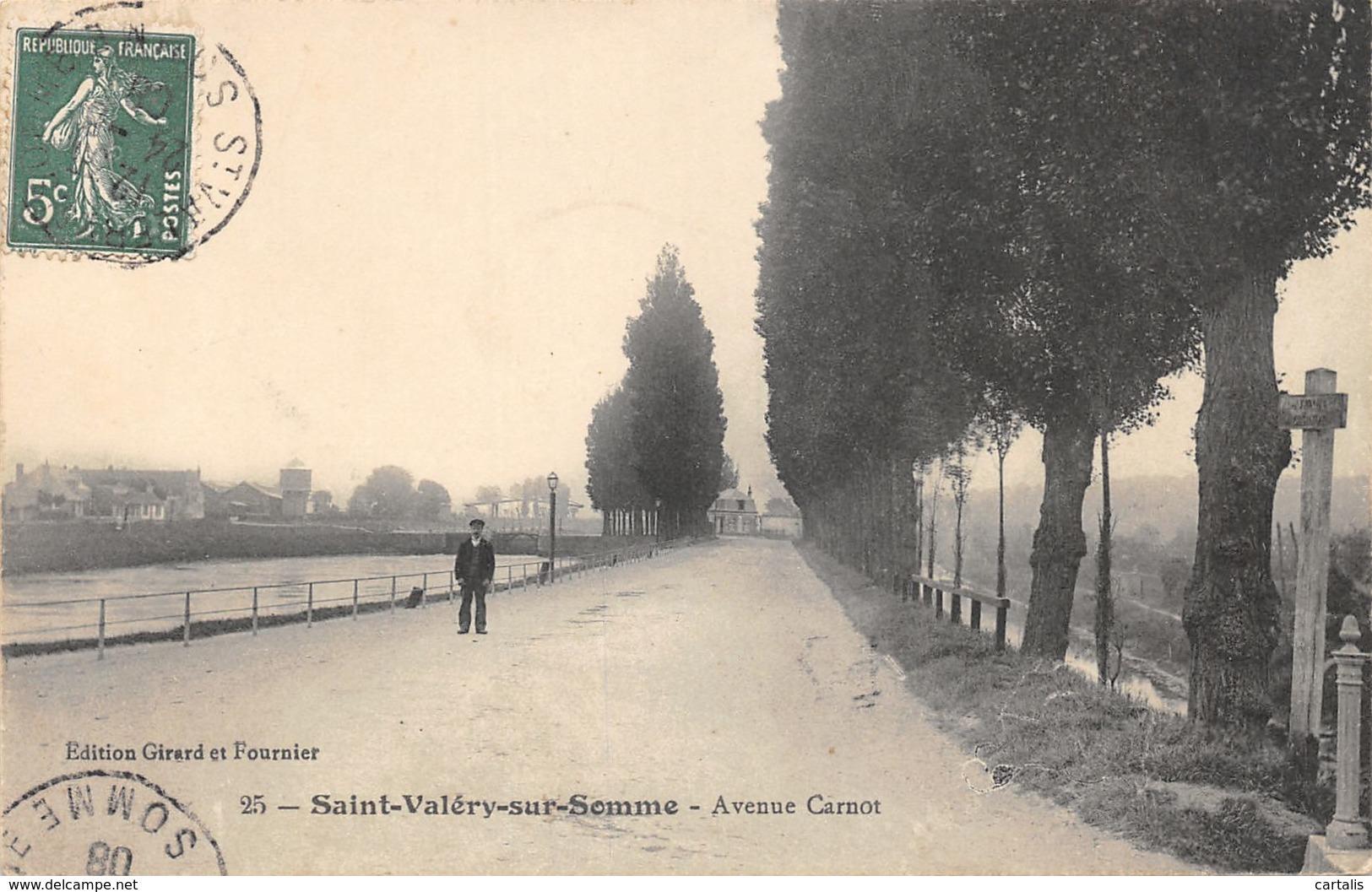 80-SAINT VALERY SUR SOMME-N°C-423-G/0181 - Saint Valery Sur Somme