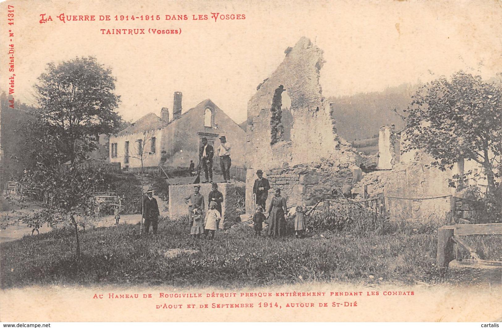 88-TAINTRUX-RUINES-N°C-424-C/0207 - Autres Communes