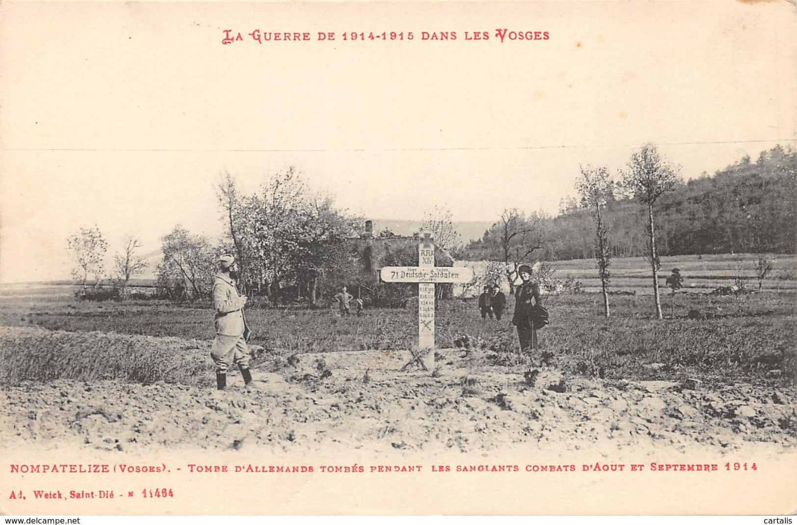 88-NOMPATELIZE-TOMBE ALLEMANDE-N°C-424-C/0231 - France