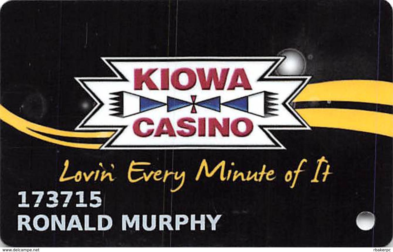 Kiowa Casino - Devol, OK - Slot Card - Casino Cards