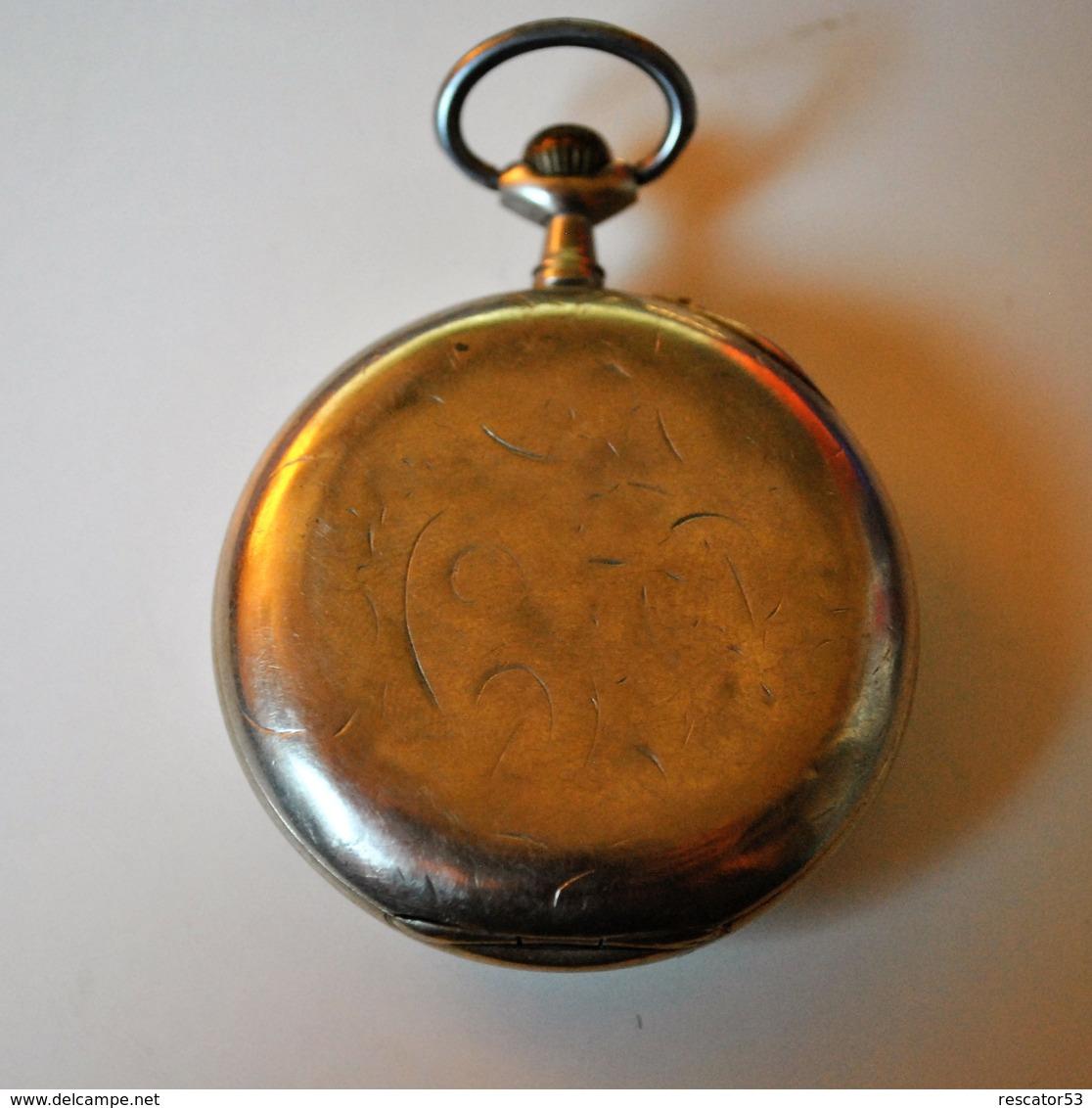 Belle Petite Montre à Gousset Chronomètre CH.Feuvrier à Epinal - Montres Gousset
