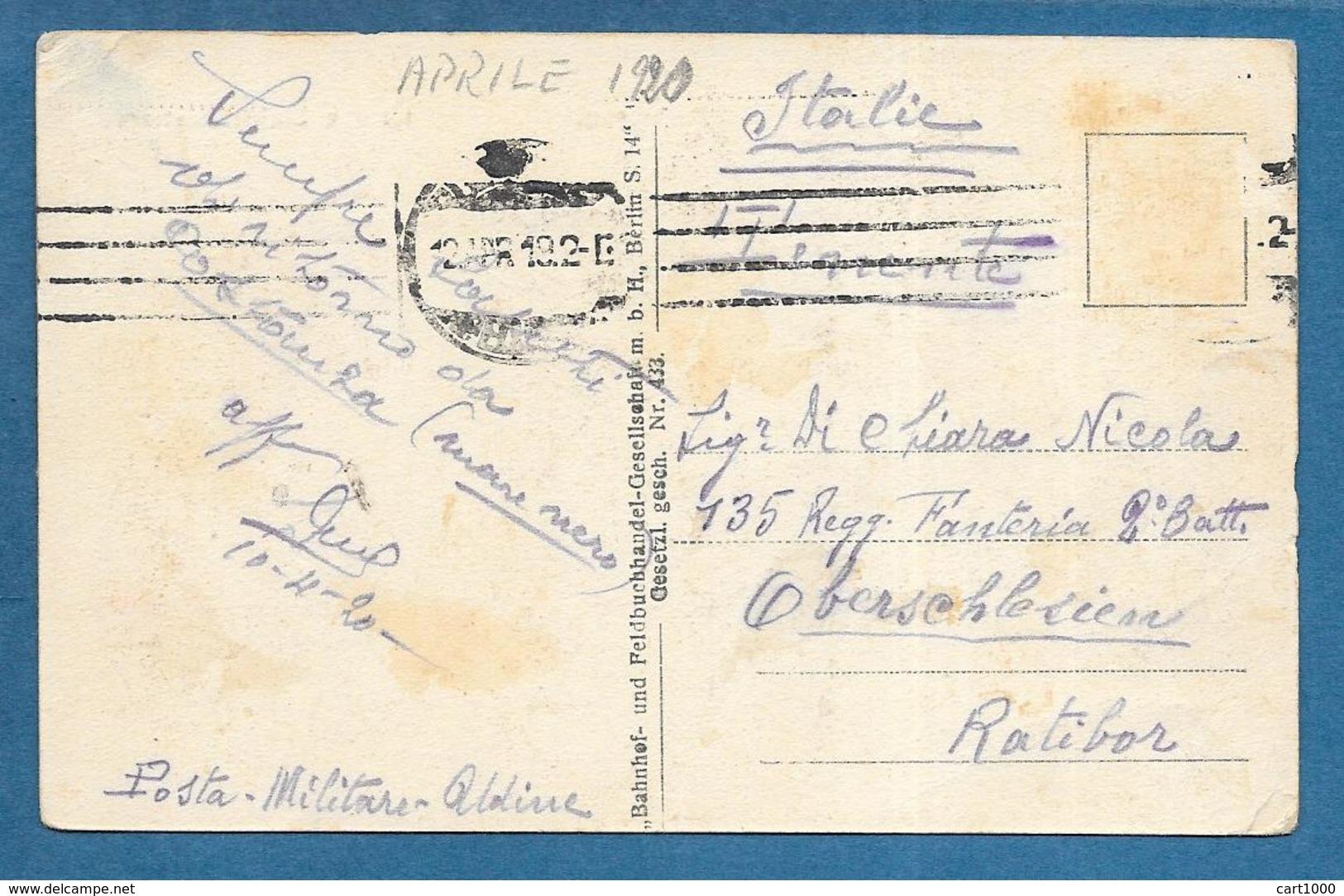 FOCSANI GROSSE EINIGKEITSTRASSE 1920 - Romania