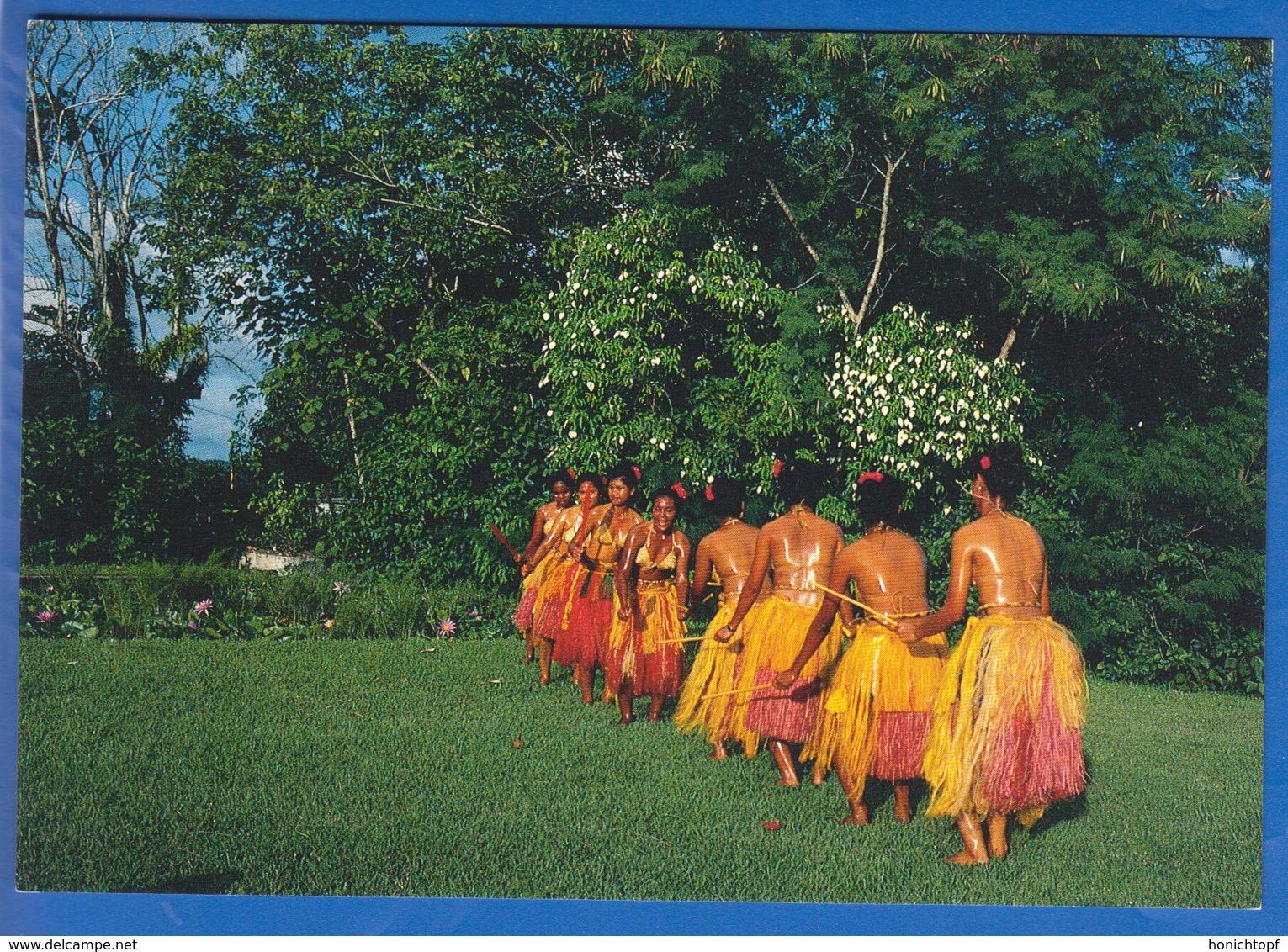 Palau; Traditional Dance - Palau