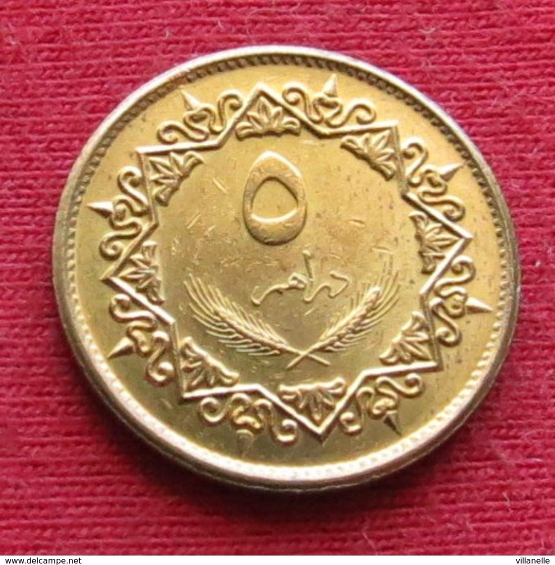 Libya 5 Dirham 1975 KM# 13 Lt 595  Libia Libye - Libye