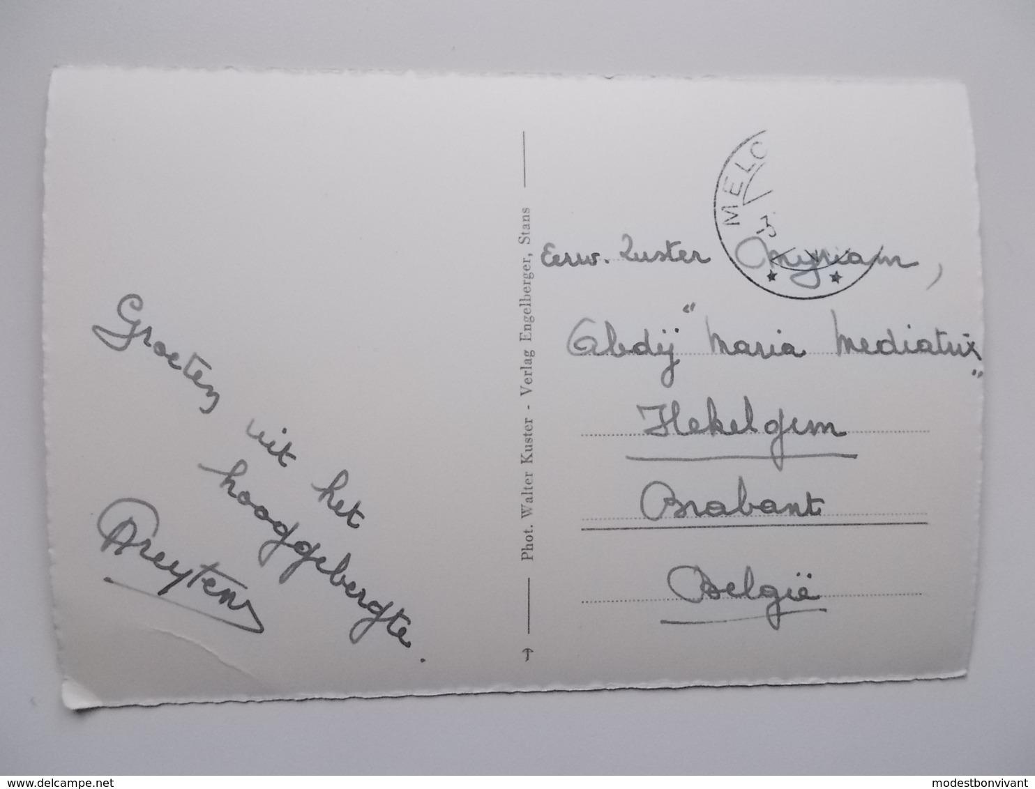 ENGELBERG / BETRUF AUF ALP / ZINGEL - OW Obwald