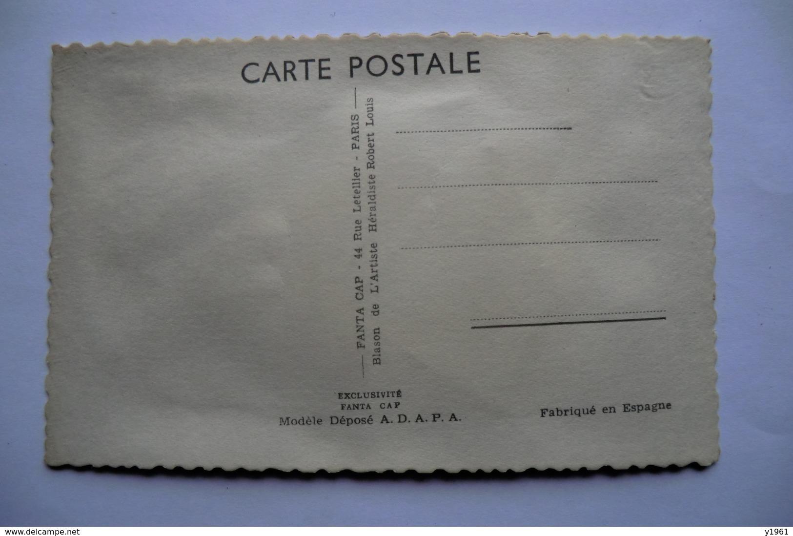 CP BRODEE. Carte Postale Brodée. AUVERGNATE. - Brodées