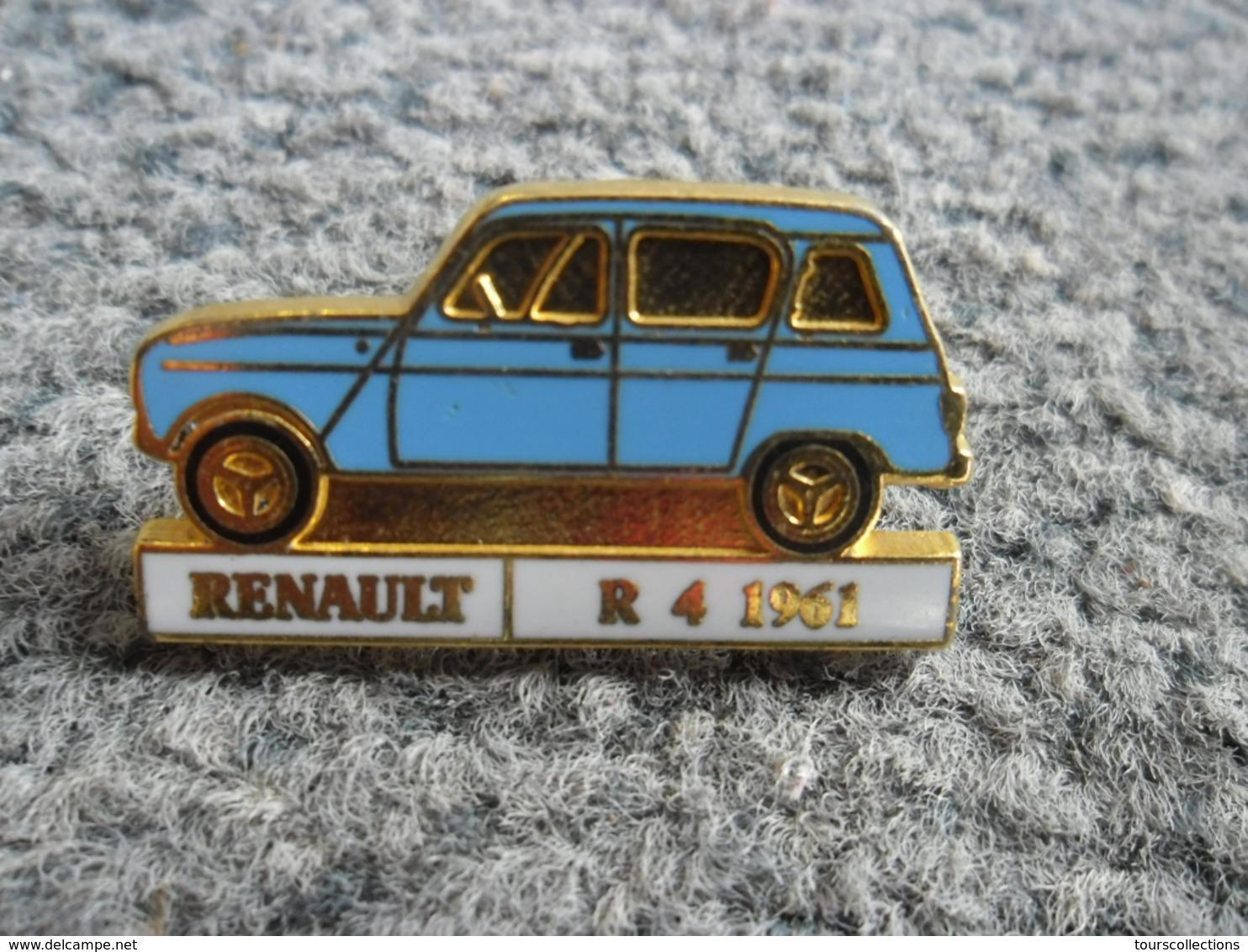 PIN'S AUTOMOBILE RENAULT R 4 De 1961 @ 31 Mm X 17 Mm - Renault
