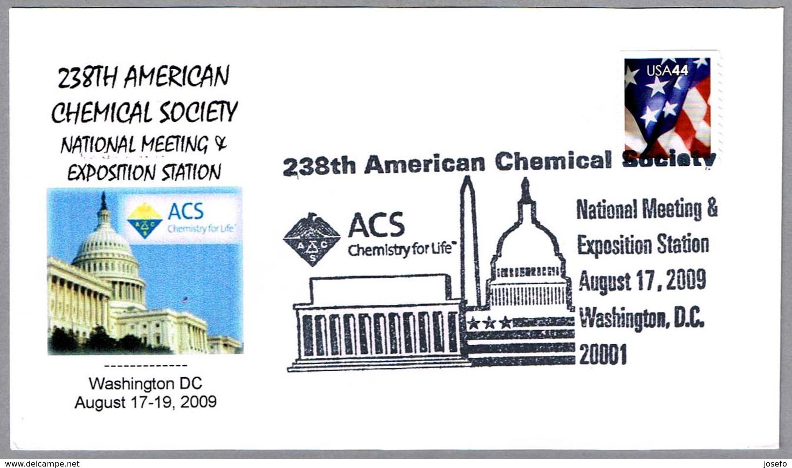 AMERICAN CHEMICAL SOCIETY ACS - 238 Reunion Nacional. Washington DC 2009 - Química
