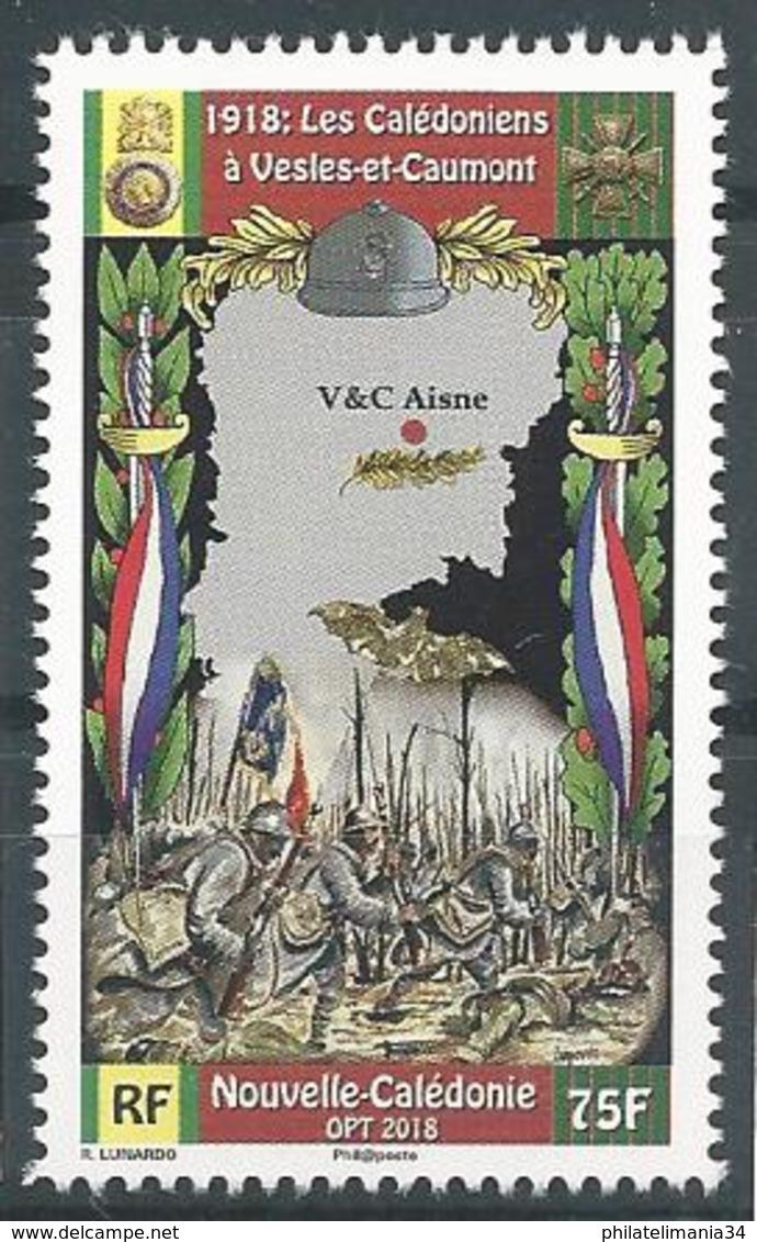 Nouvelle Calédonie 2018 - Les Calédoniens à Vesles Et Caumont - Nueva Caledonia