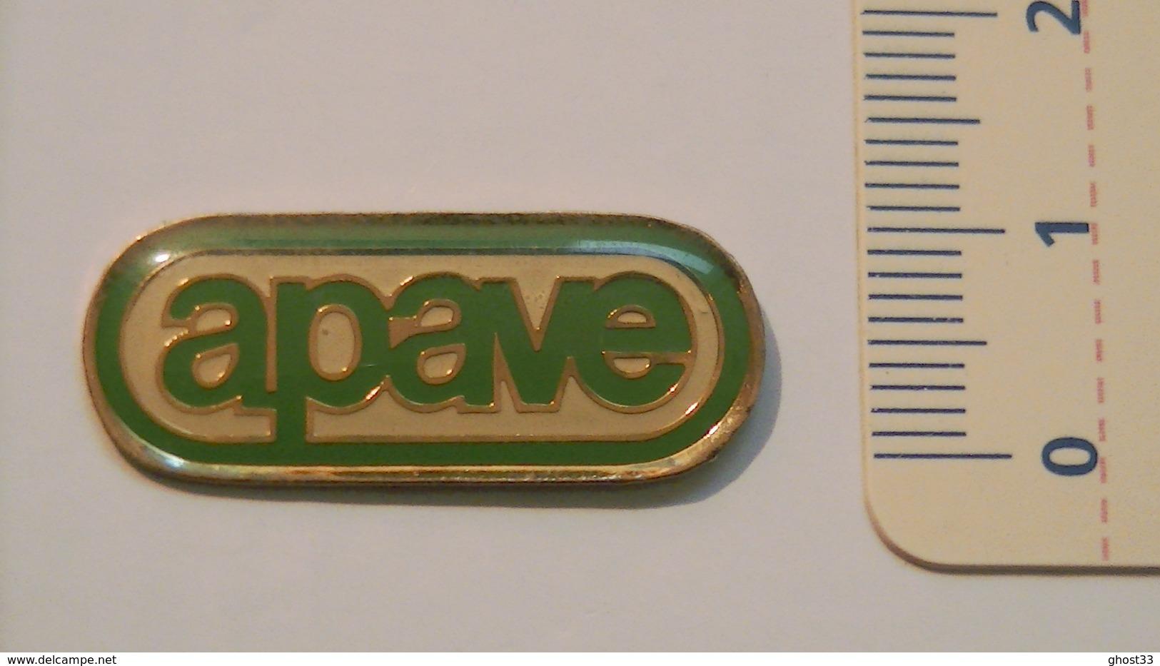 PIN'S APAVE - Space