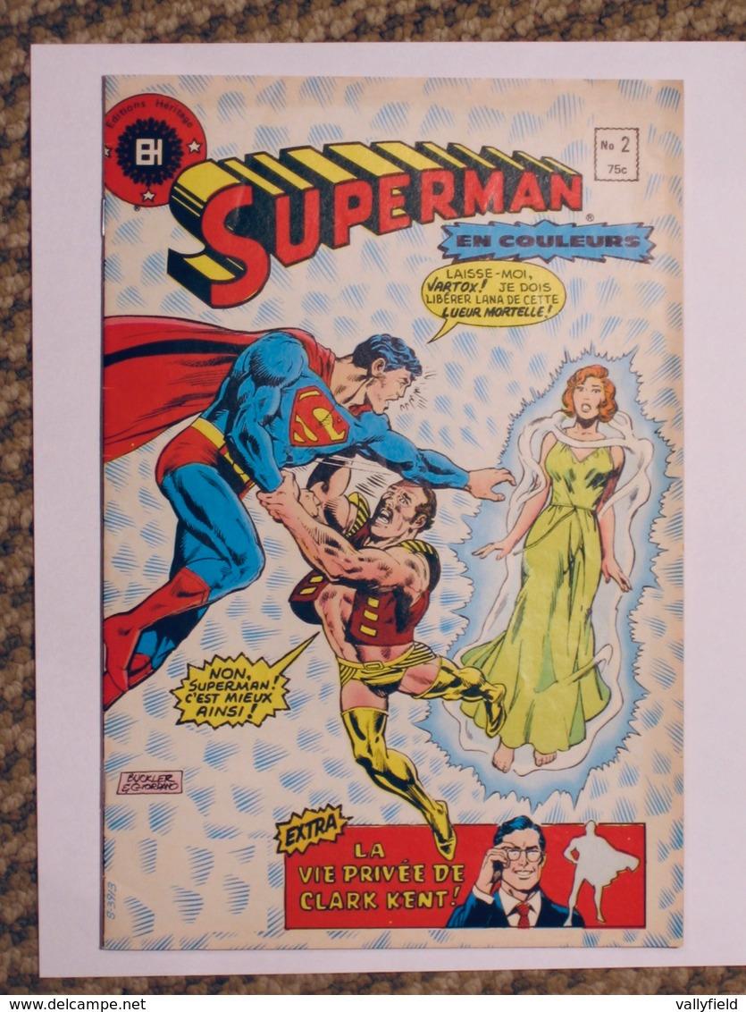 BD SUPERMAN #2 Éditions Héritage - Superman