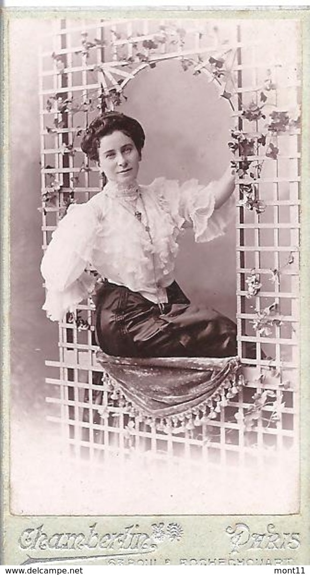Ein Altes Foto Portrait - Alte (vor 1900)