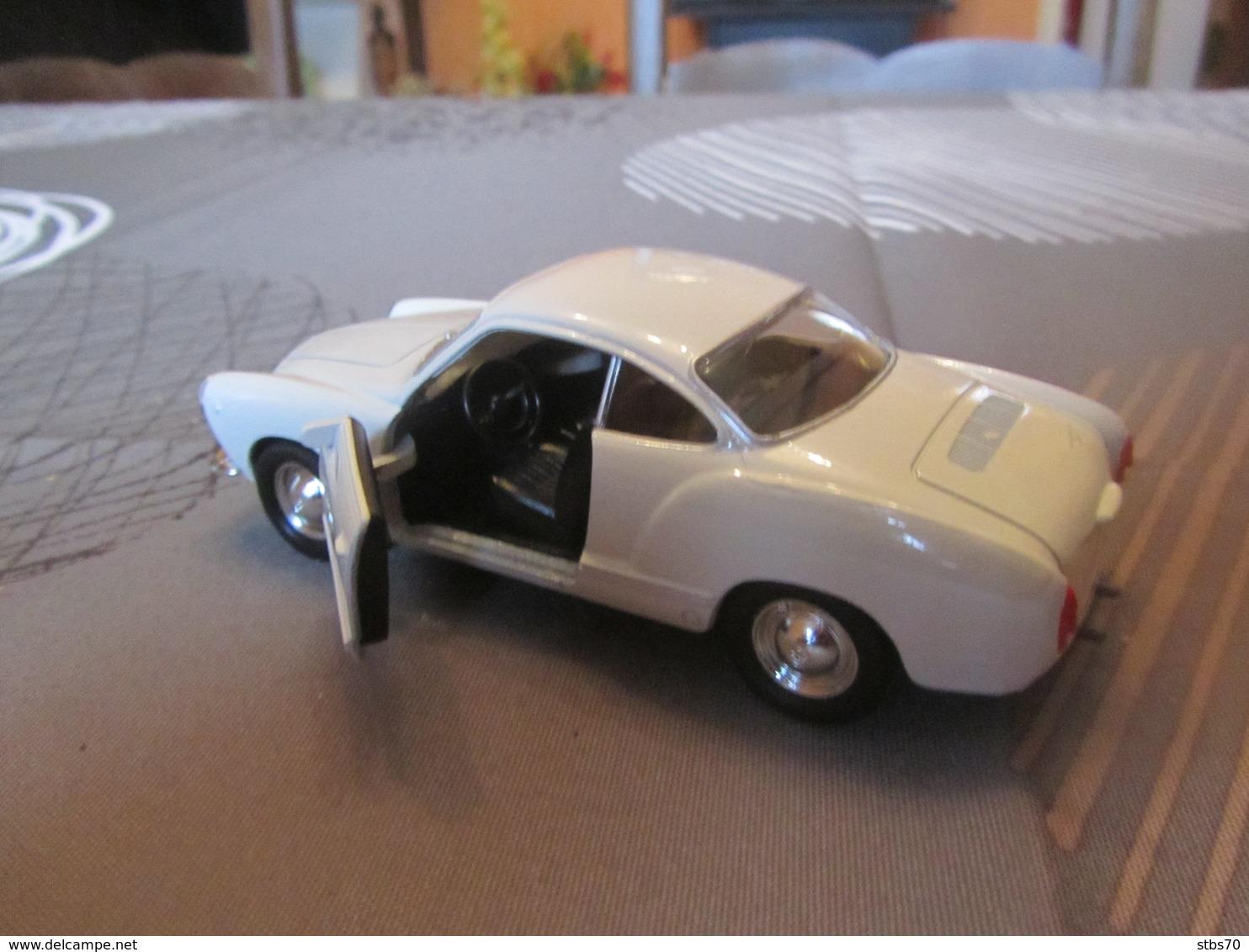 CJ16 Welly, VW Karmann Ghia Coupé, 12 Cm - Cars & 4-wheels