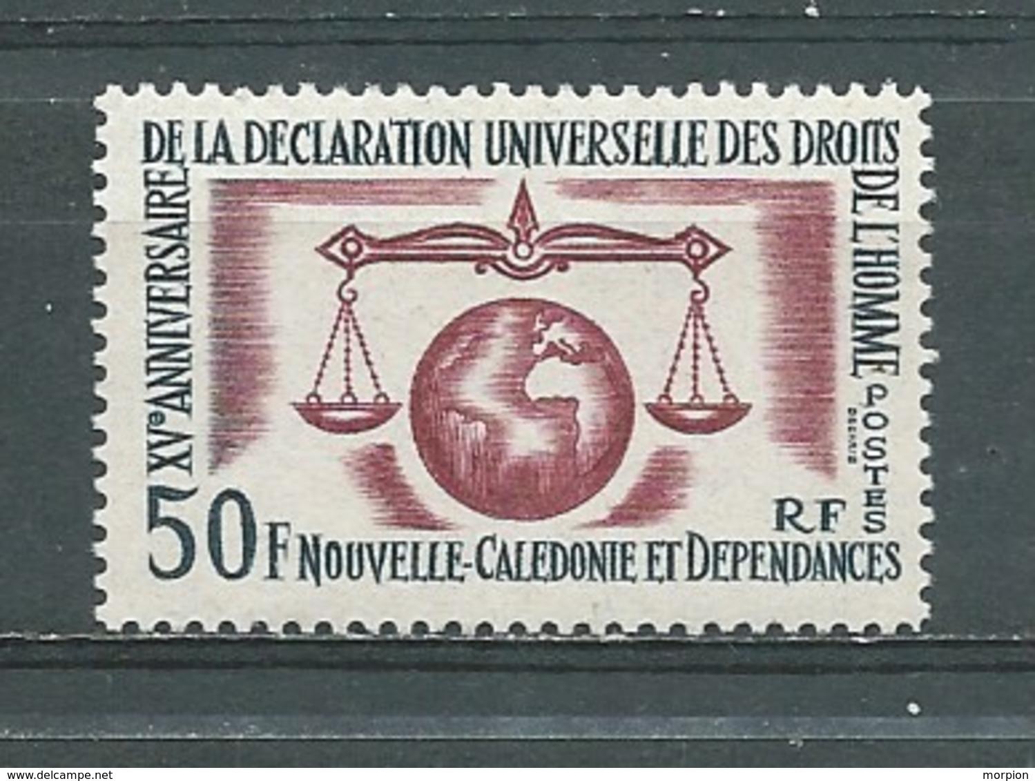 NOUVELLE-CALEDONIE - Yvert  N° 313 **  Déclaration Universelle Des Droits De L'homme - New Caledonia